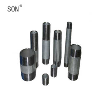 Hot Dipped Galvanized Carbon Steel Pipe Nipples