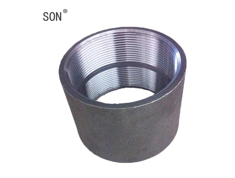 Black Carbon Steel Pipe Socket / Coupling