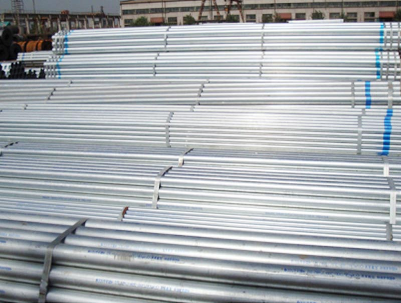Hot Dipped Galvanized Carbon Steel Welded Pipes